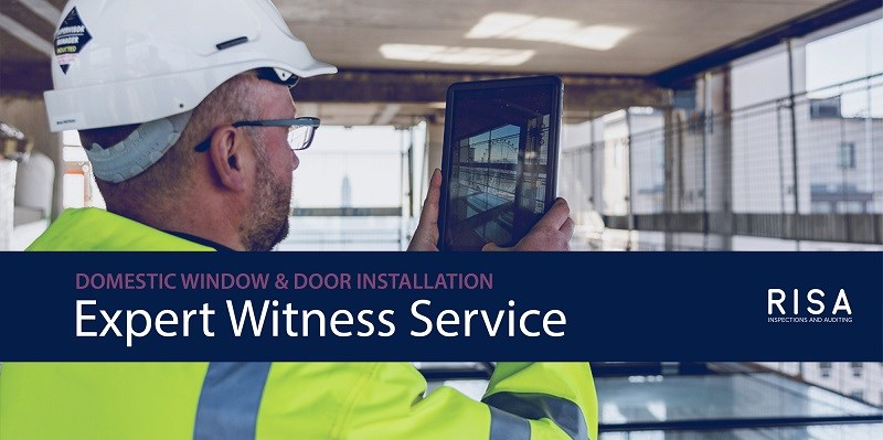 We've launched an Expert Witness Service for domestic window and door installation disputes